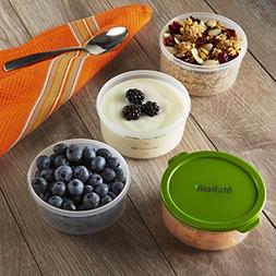 Medport 3 Piece 1 Cup Fit & Fresh Smart Portion Chill Contai