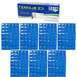 """15x19.5"""" Gel Flexible Ice Packs For Coolers Reusable Lunch B"""