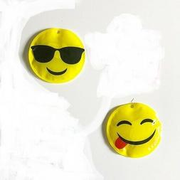 2 Round Reusable Ice Cold pack SMILEY face. Great for small