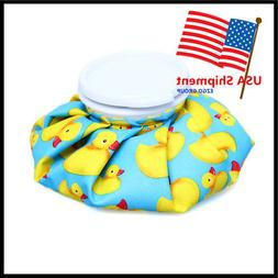 2 Sizes Healthcare Reusable Ice Bag Pack for Hot Cold Therap
