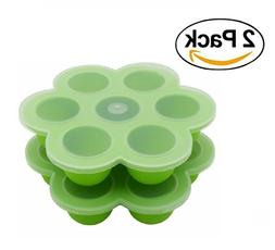 2Packs Silicone Egg Bites Molds for Instant Pot Accessories,