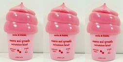 3 Pack-Peach Slices CHERRY ICE CREAM Facial Moisturizer 50ml