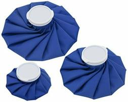 3 Pack Healthcare Reusable Ice Bag for Cold Therapy Injury P