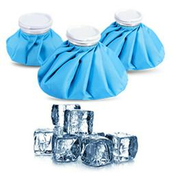 3-Pack Ice Bag Cold Reusable Hot Water Injuries Therapy and