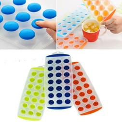 3 pack silicone ice cube trays easy