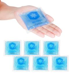 ICEWRAPS 3x3 GEL ICE PACKS FOR KIDS FIRST AID, REUSABLE COLD