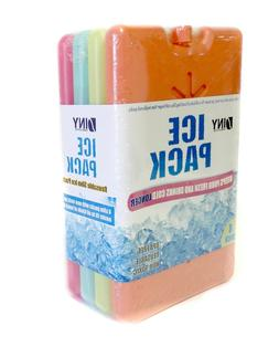 4 Piece Ice Pack Lunch Box  Keeps Food Fresh And Drinks Cold