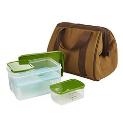 Fit & Fresh Men's Big Phil Lunch Bag Kit with Lunch on The G