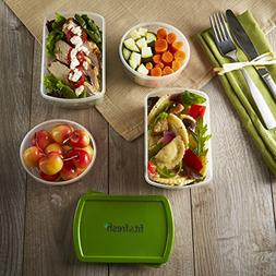 Fit & Fresh Smart Portion 1-Cup & 2-Cup Reusable Lunch Conta