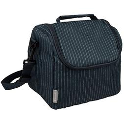 Insulated Lunch Cooler Bag - Large Meal Tote with Zipper Clo