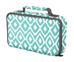Fit & Fresh Bento Lunch Box Set with Insulated Bag and Reusa