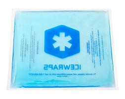 Blue 8x10 Gel Pack Reusable Hot or Cold Pack for Pain Relief