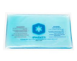 Blue 6x10 Gel Pack Reusable Microwavable Hot Pack, Ideal Ice