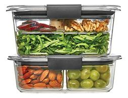 Rubbermaid Brilliance Food Storage Container, Salad and Snac