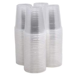 Bulk Pack Of 200 ! 3 Oz Disposable Plastic Cups Clear, Mini