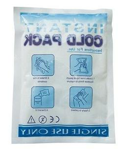 "CASE of 24 INSTANT DISPOSABLE ICE PACKS COLD COMPRESS 6"" x 9"