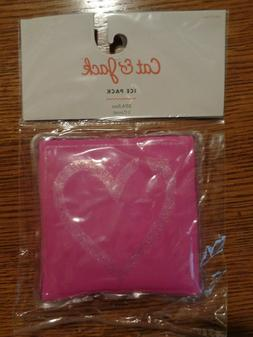 Cat & Jack Kids Freezer ICE PACK ~ PINK with HEART BPA Free