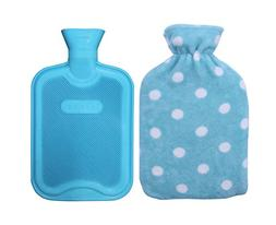 HomeTop Premium Classic Rubber Hot or Cold Water Bottle with