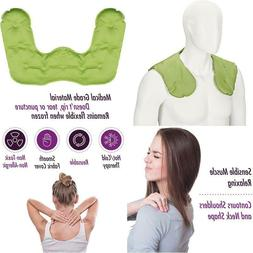 Cold-Heat Neck And Shoulder Wrap, Ice Pack Therapy, Flexible