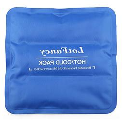 Cold Hot Therapy Pad Reusable Gel Ice Pack Pain Relief Injur