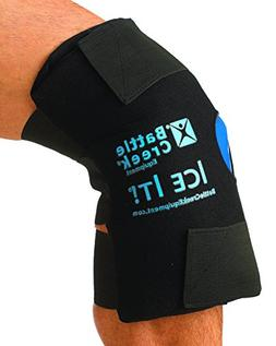 Hot and Cold Therapy Knee Wrap - With Bonus Gel Pack