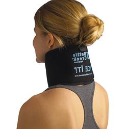 Hot and Cold Therapy Neck Wrap - With Bonus Gel Pack
