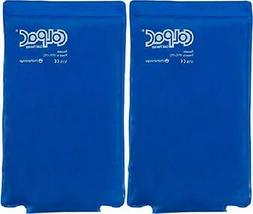 Chattanooga ColPac Blue Vinyl Ice Pack  - Half-Size, 7.5x11