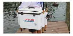 Cooler/Dry Box 19 Qt -Keeps Food and Drinks Cold, Keeping Ou