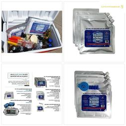 """Cooler Shock 4 Mid Size Freeze Packs 10""""x 9"""" - No More Ice!"""