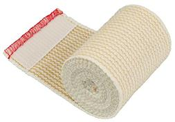 "GT Cotton Elastic Bandage Roll w/Hook and Loop Closure, 3"" W"