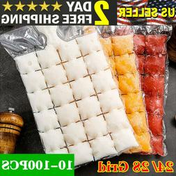 disposable ice cube bag 10 100 pack