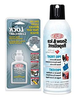 DuPont Easy Entry Lock Lube & Snow and Ice 10 oz Value Pack