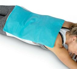 ICEWRAPS Extra Large Ice Pack for Injuries, Covers Entire Ba