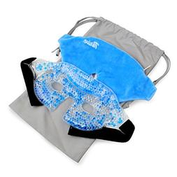 Eye Mask - Gel Beads Hot/Cold Pack - Fabric Back - Innovativ