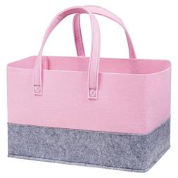 felt essential storage tote light