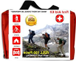 first aid emergency kit survival auto car home bandages ice