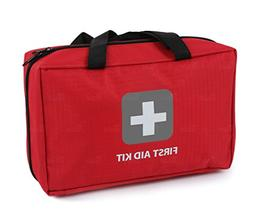 First Aid Kit – 291 Pieces – Bag. Packed with hospital g