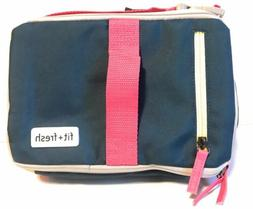 Fit & Fresh Expandable Bento Lunch Bag - Pink/Yellow