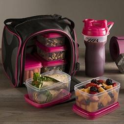 Fit and Fresh Jaxx Fuel Packs with Portion Control Container