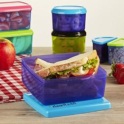 The Fit & Fresh Healthy Lunch set - 17Pc Value Set