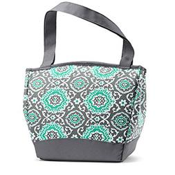 Fit Fresh Hyannis Insulated Lunch Bag with Reusable Ice Pack