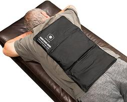 """Flexible Gel Ice Pack for Back Pain Injury by IceWraps - 12"""""""