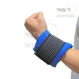 Flexible nylon ice hot/cold therapy gel pack wrap around for