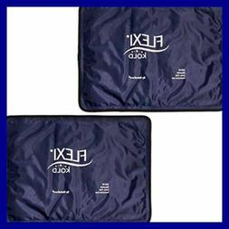 """Flexikold Gel Ice Pack Standard LARGE 10.5"""" X 14.5"""" Two 2 Re"""