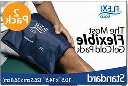 FlexiKold Gel Ice Pack  - Two  Reusable Cold