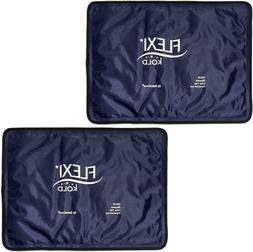 FlexiKold Gel Ice Pack  2 Reusable Cold Therapy Pack