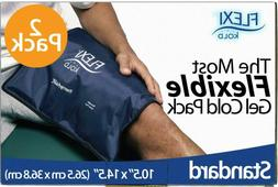 FlexiKold Gel Ice Pack  - Two  Reusable Cold T