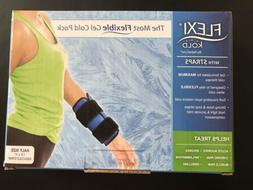 FlexiKold Gel Ice Pack w/Straps  - One  Reusable Cold Therap
