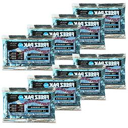 Freeze Packs, 8 Pack - Set of 8 Reusable Long Lasting Ice Pa