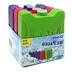 Ice Packs for Coolers  by World-bio, Chill and Fresher Longe